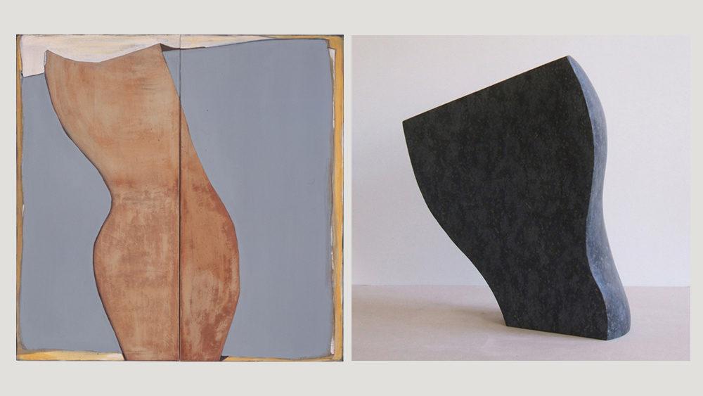 Hildegard Jaekel und Ruth Lahrmann, Bilder und Skulpturen